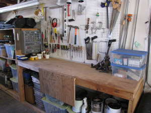 Organizing Studios, Shops and Garages